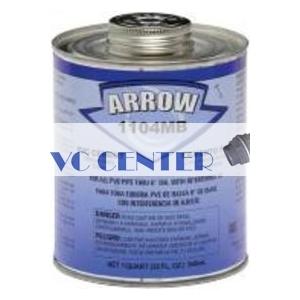 דבק PVC  עם מברשת 250 גר